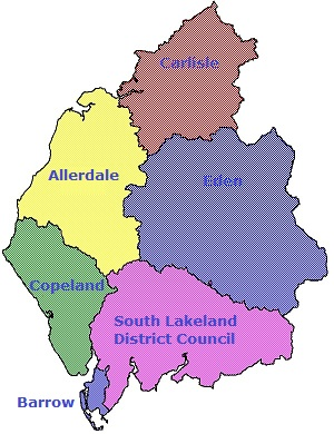Cumbria District Councils