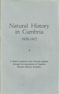 Cumbria Naturalists Union report 1970-1972